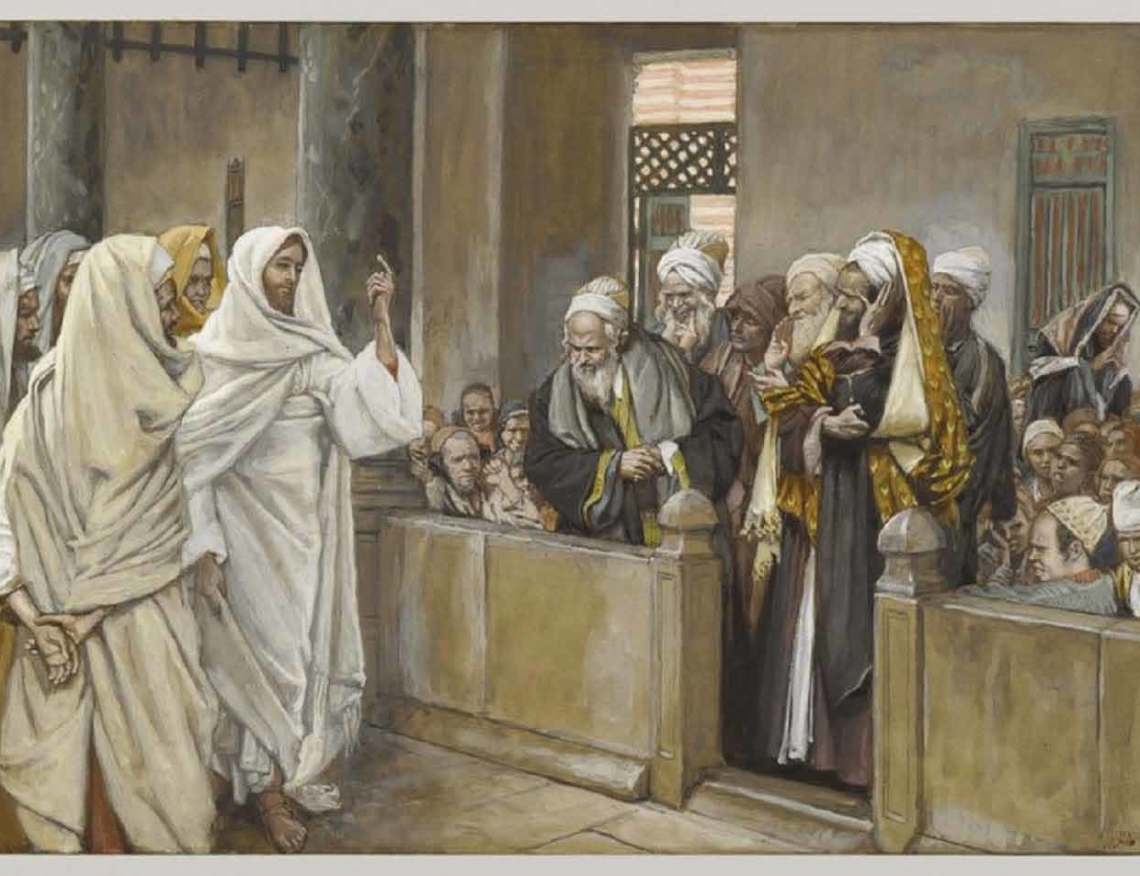 Tissot-The Sadducees Ask Jesus About the Resurrection