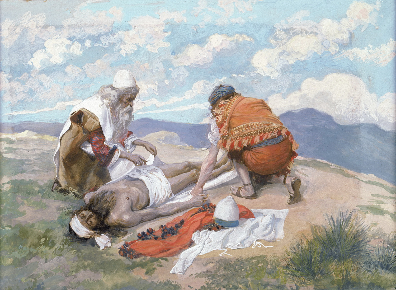 Tissot-the death of Aaron-1500
