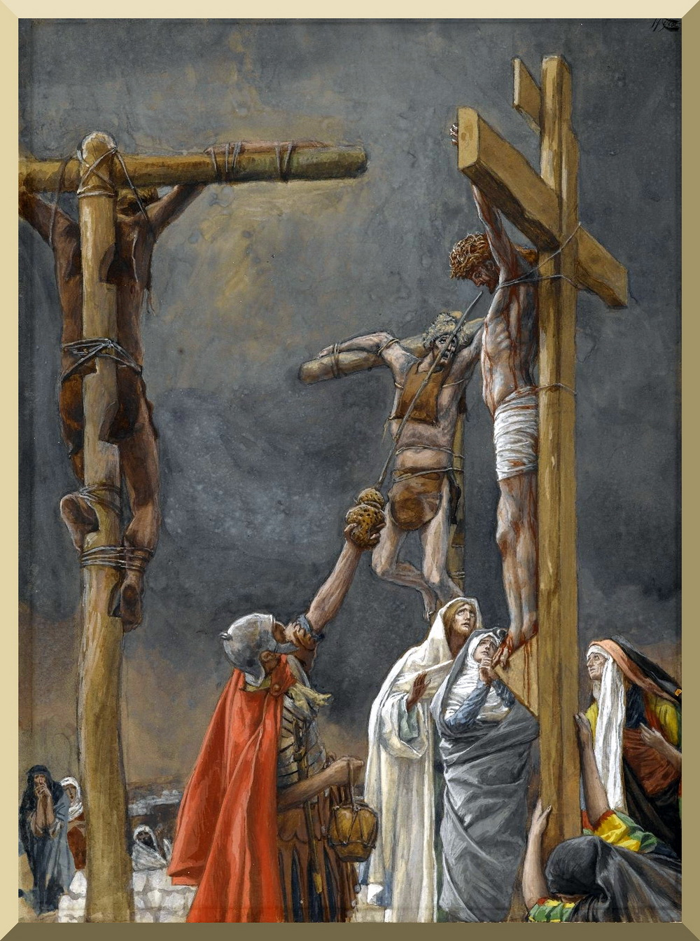 Tissot I Thirst The Vinegar Given to Jesus-2