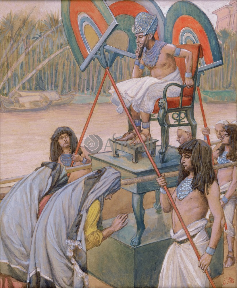 Tissot Pharaoh and the Midwives