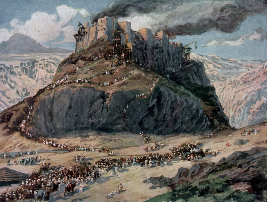 Tissot The Conquest of the Amorites