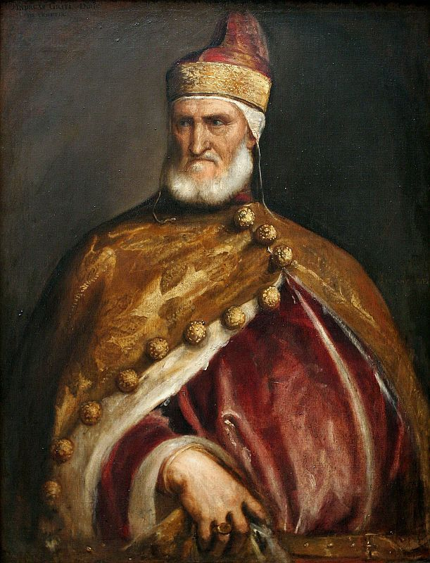 Titian-Doge Andrea Gritti the Doge of Venice from 1523 to 1538
