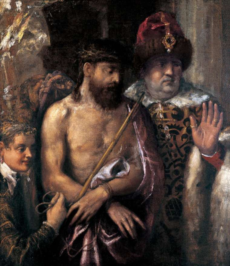 Titian - Christ Shown to the People Ecce Homo-750