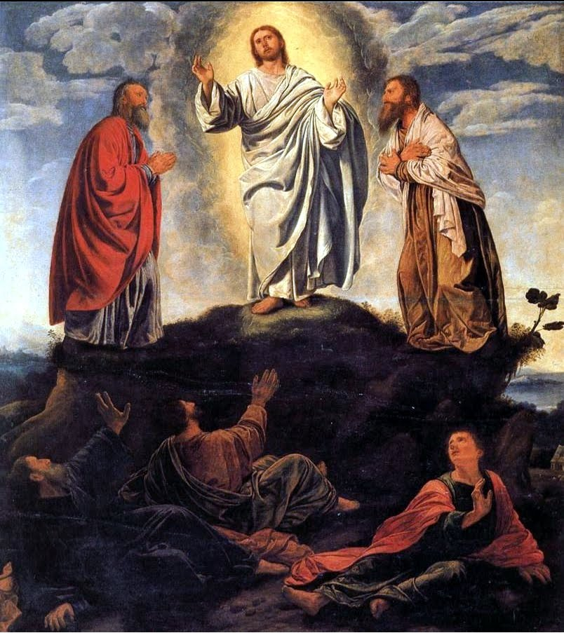 Transfiguration by Giovanni Gerolamo Savoldo 16th century