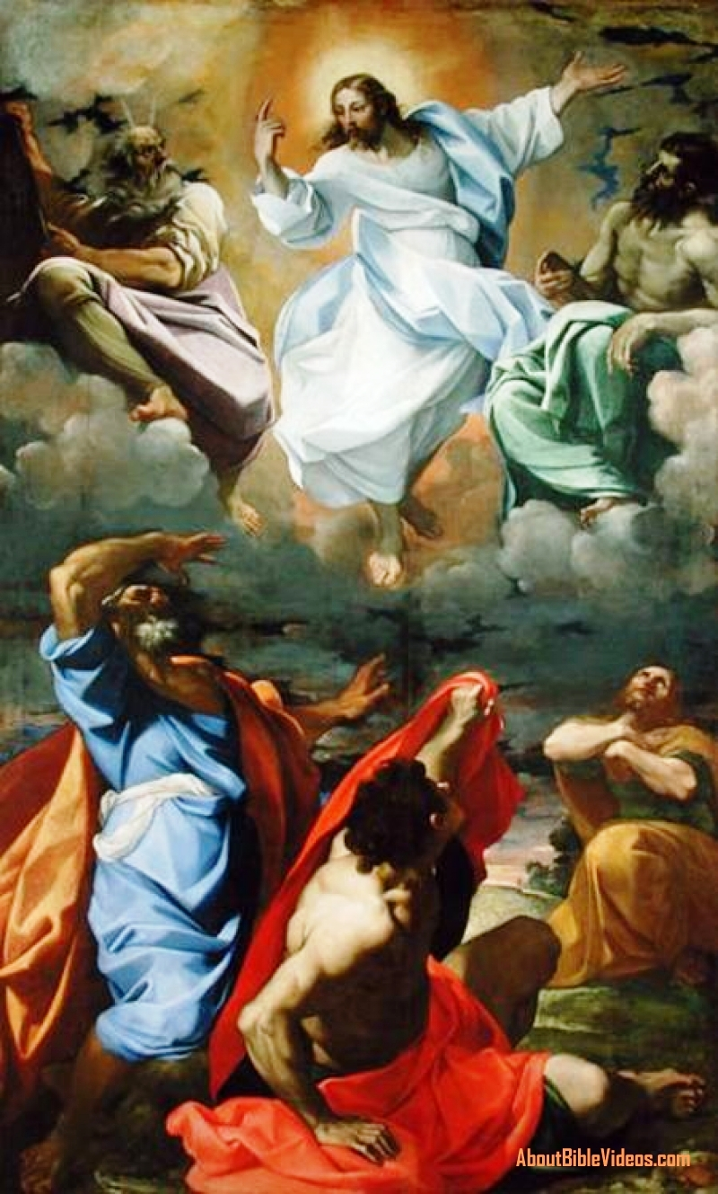 Transfiguration by Lodovico Carracci