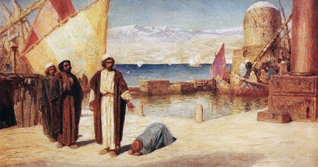 Vasily Polenov - Limits of Tyre