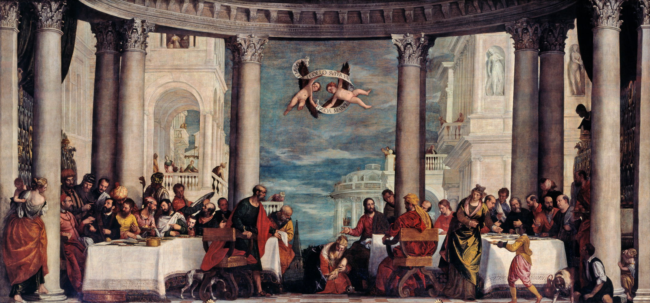 Veronese The Feast in the House of Simon the Pharisee 1570