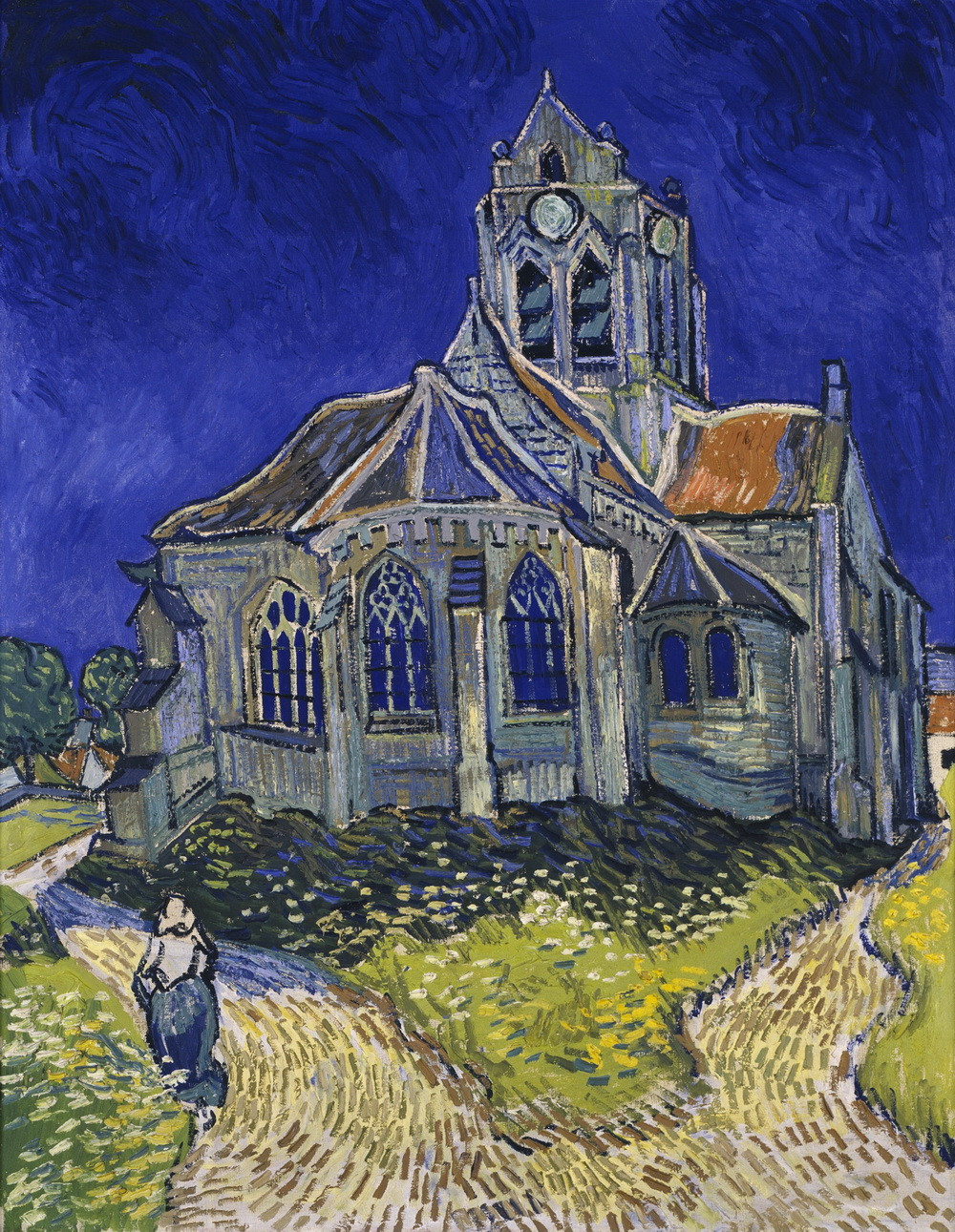 Vincent van Gogh - The Church in Auvers-sur-Oise View from the Chevet-1000