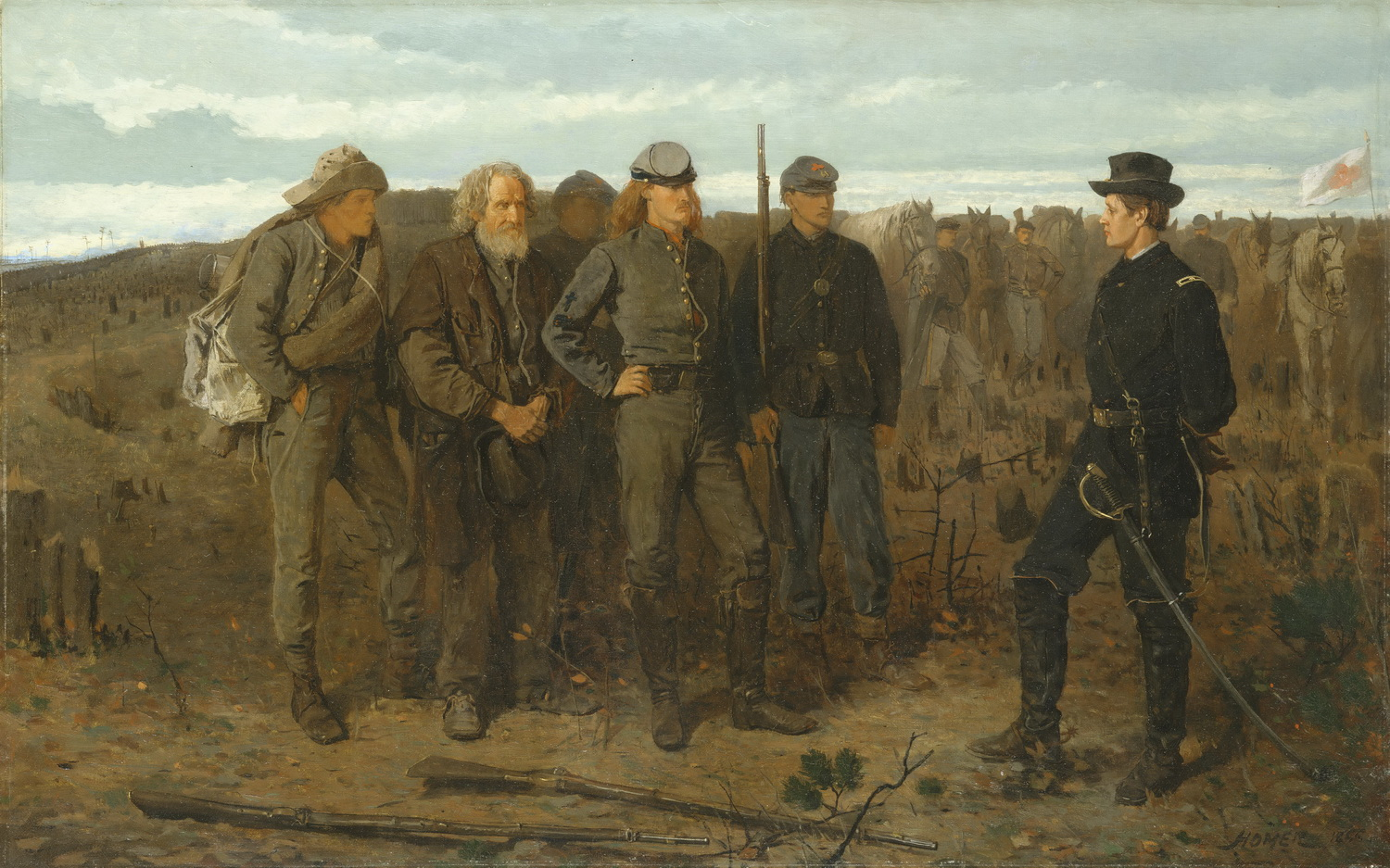 Winslow Homer - Prisoners from the Front-2