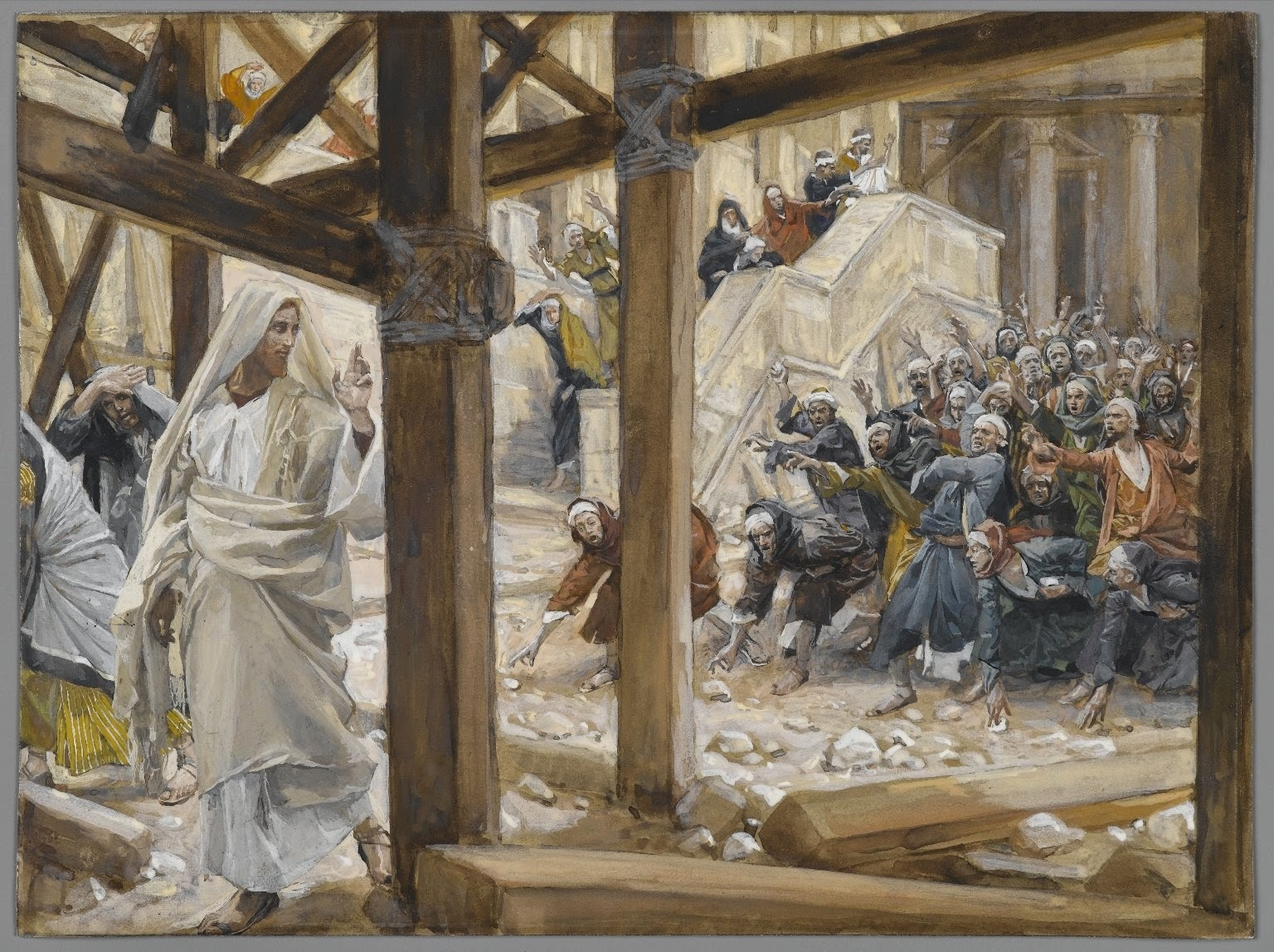 james tissot jews tried to kill Jesus
