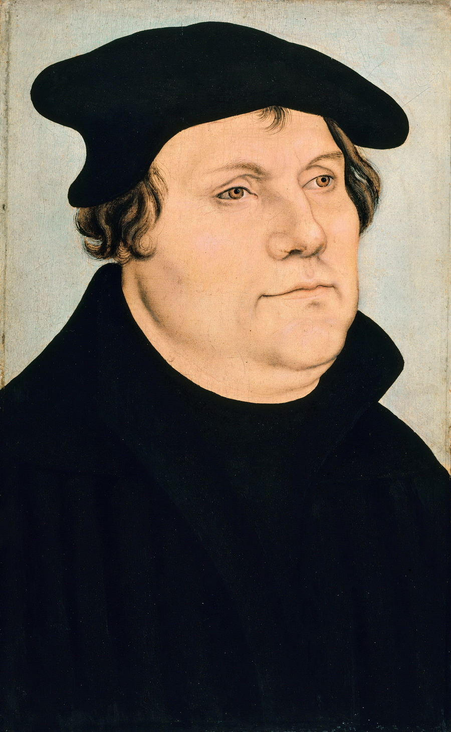 Lucas Cranach I workshop - Martin Luther - Gemäldegalerie Berlin-900