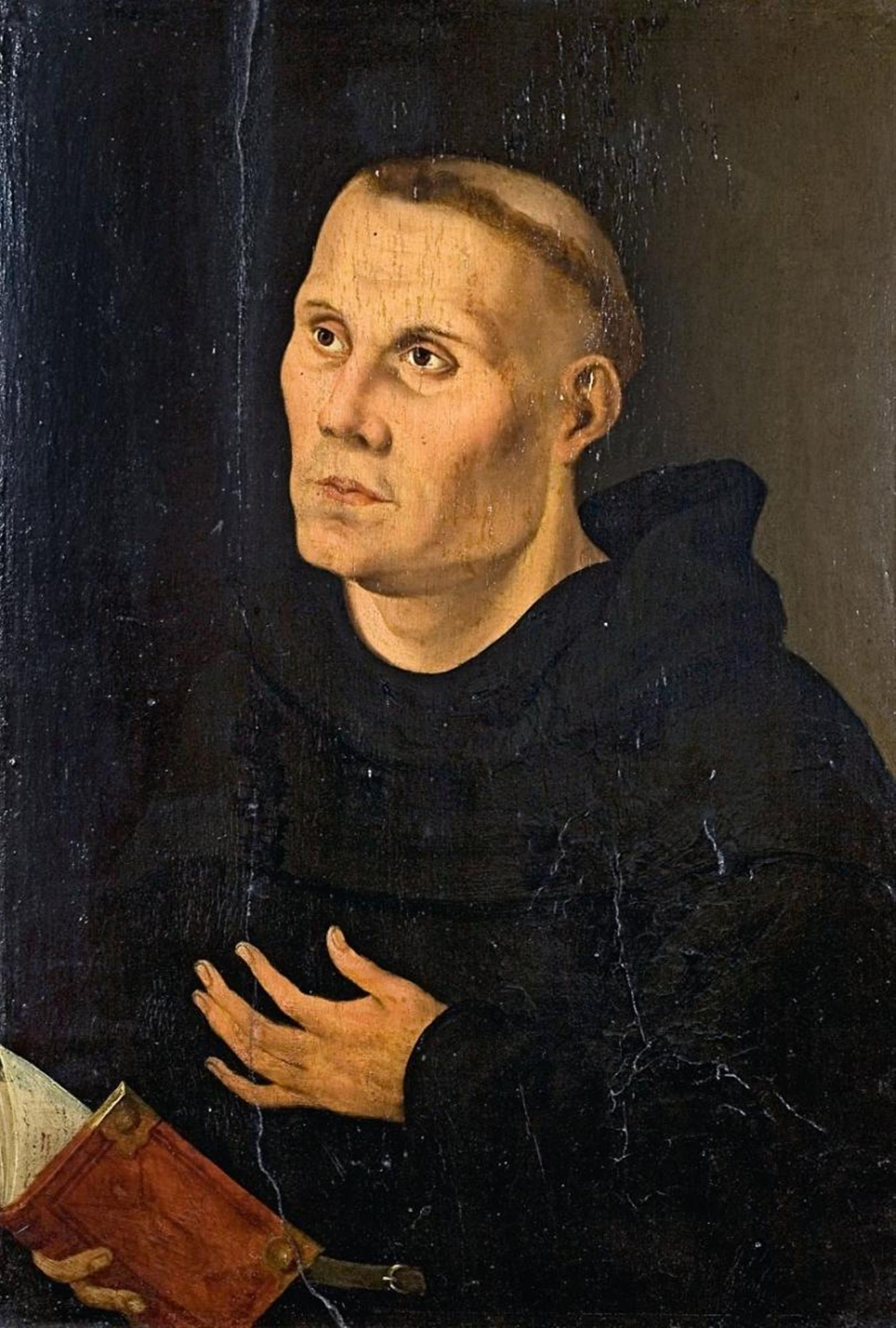 Lucas Cranach the Elder copy after MARTIN LUTHER AS MONK