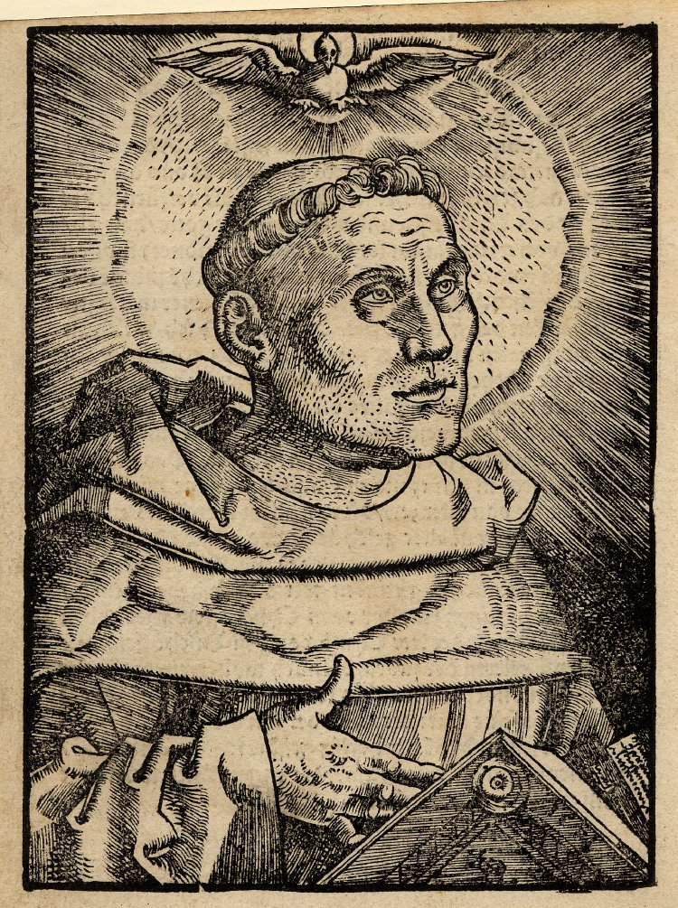 Martin Luther as an Augustinian friar