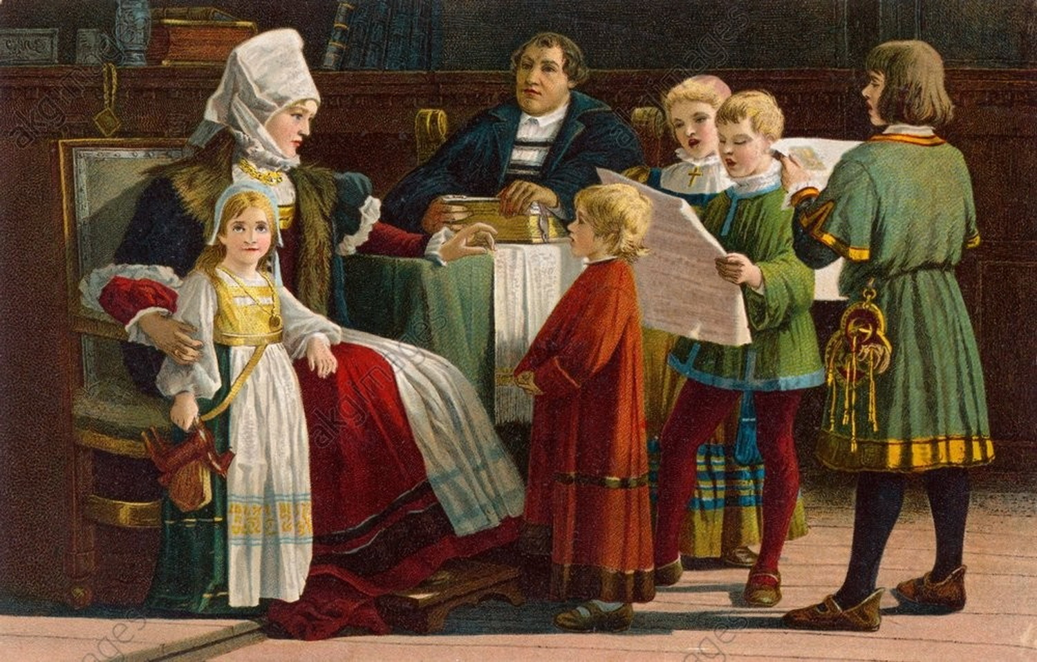 Paul POETZSCH 1858-1936-luther family-1546