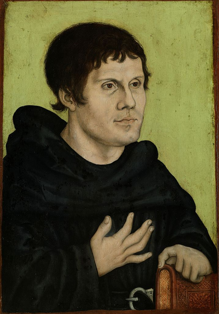 Portrait of Martin Luther as an Augustinian Monk-2