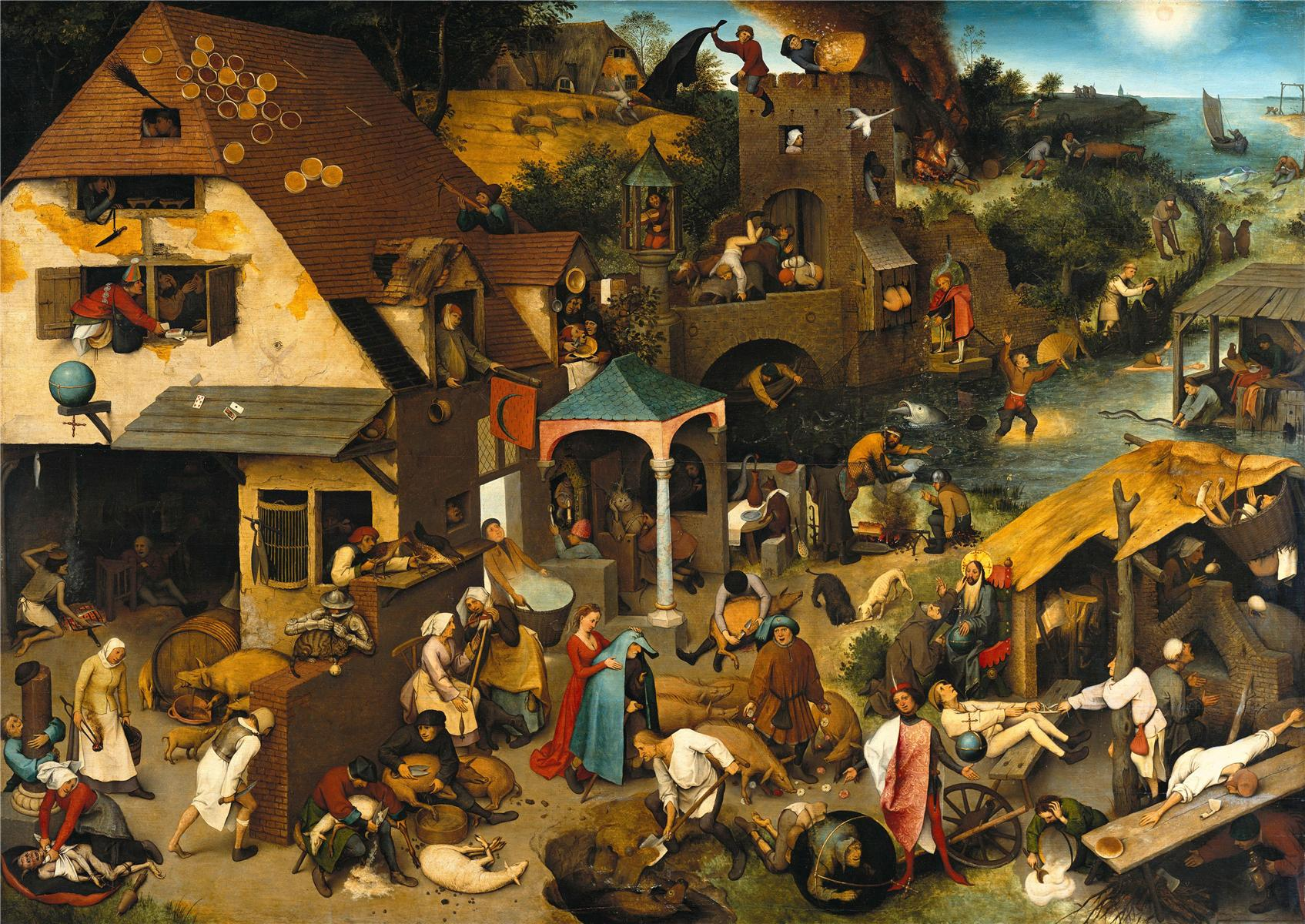 pieter bruegel the elder - the dutch proverbs