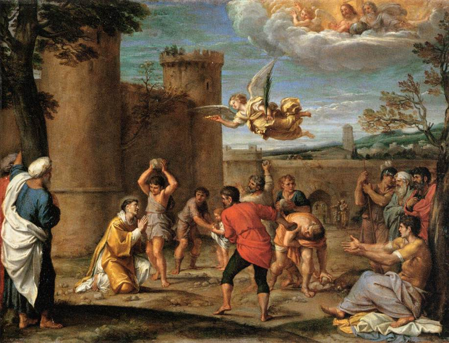 the-stoning-of-st-stephen-1604-Annibale Carracci