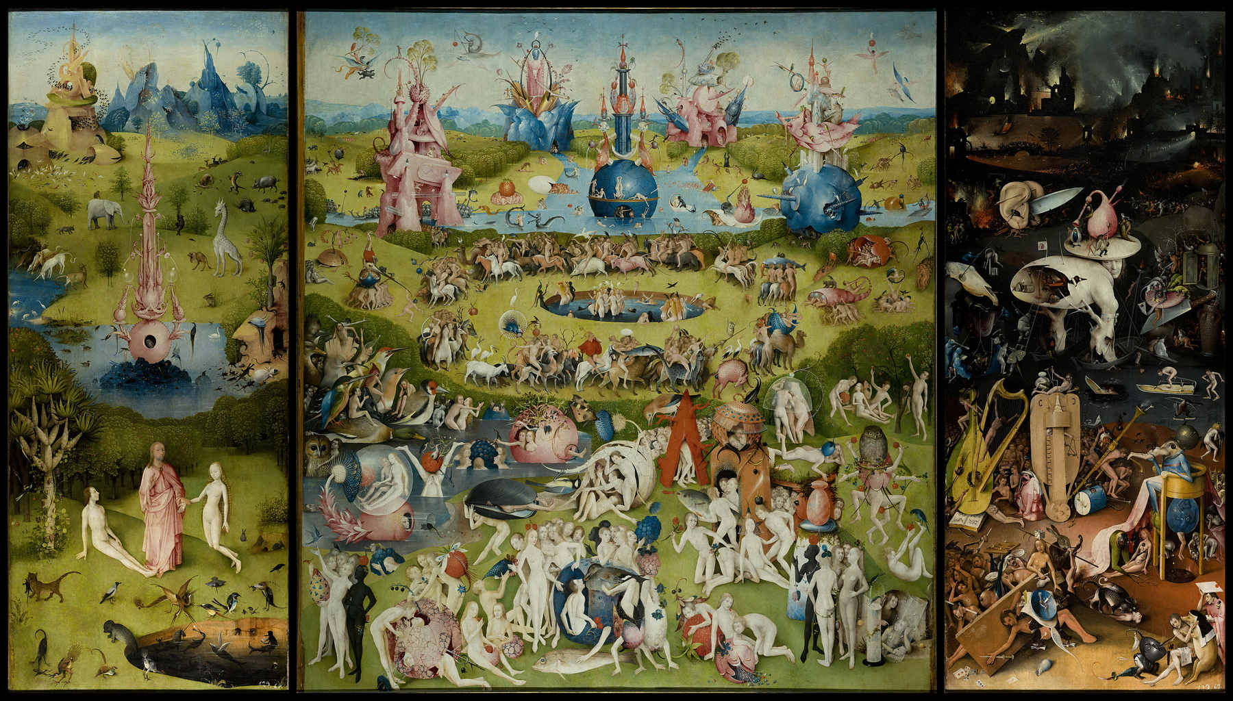 the garden of earthly delights by bosch high resolution-1800