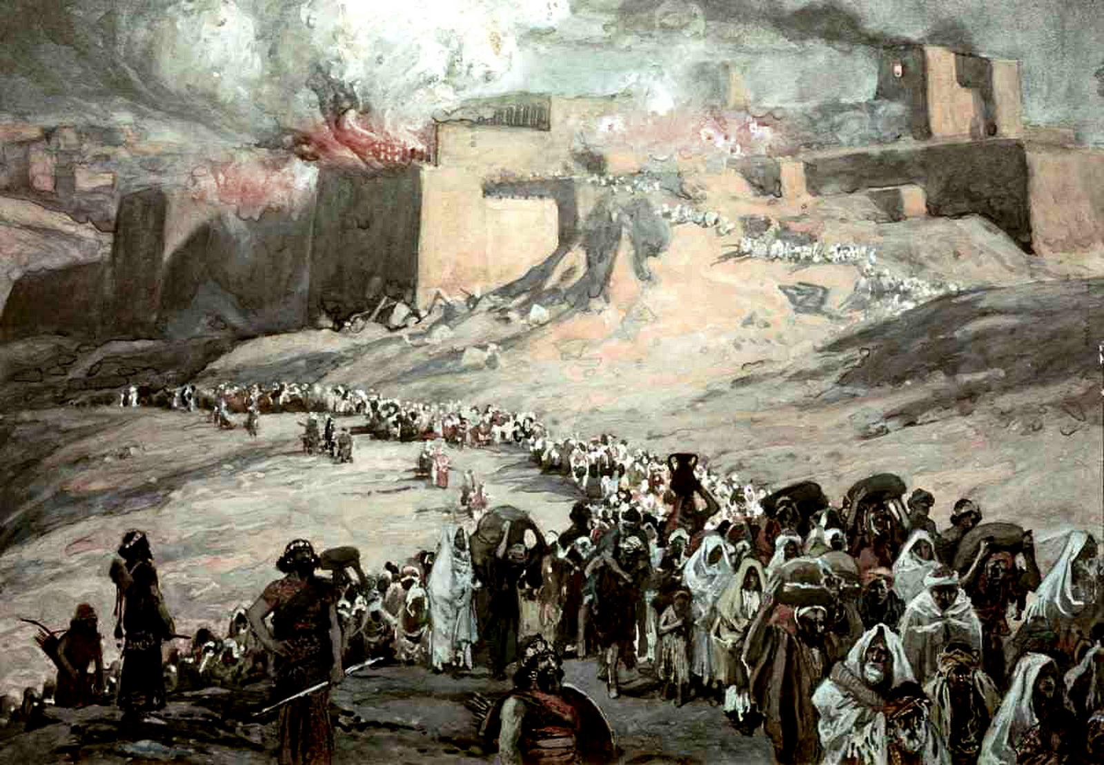 tissot - the Exile from Jerusalem-2
