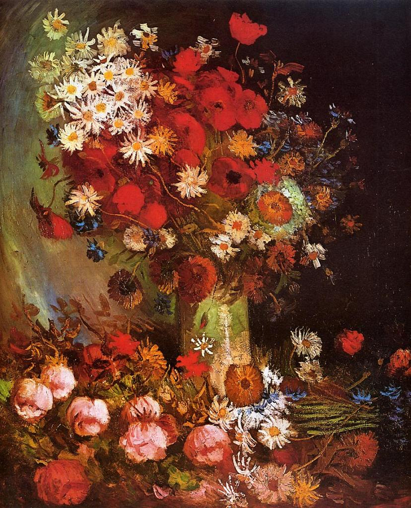 van gog-vase-with-poppies-cornflowers-peonies-and-chrysanthemums-1886