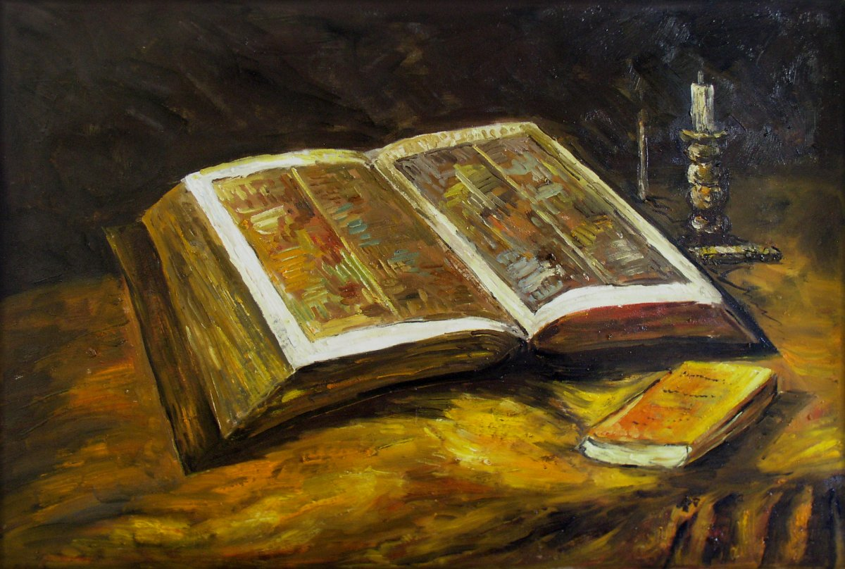 van gog -Still life with thr Bible