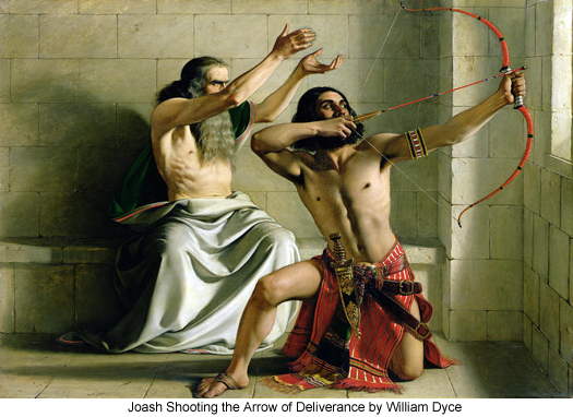 william-dyce-Joash-shooting-the-arrow-of-deliverance 525